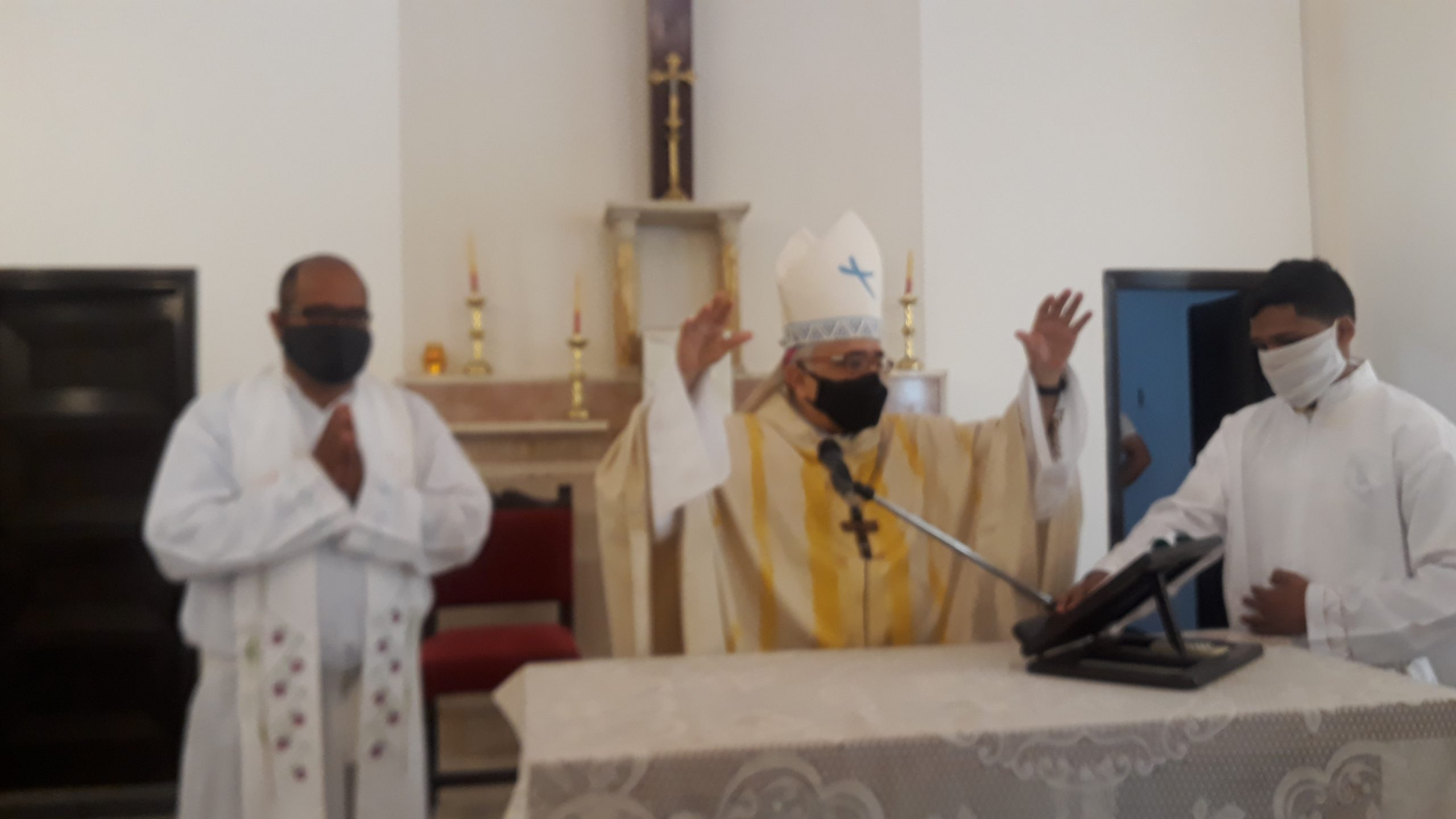"""Mons. Mariano Parra: """"Ntra. Sra. De Coromoto nos invita a abrir nuestro corazón al amor de Dios"""""""
